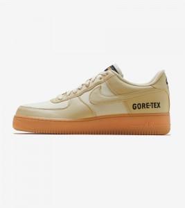 Кроссовки Nike Air Force One Low Gore-Tex Team Gold Khaki