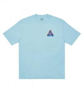 Футболка Palace Tri-Ferg Colour Blur T-Shirt Pale Blue - Фото №2