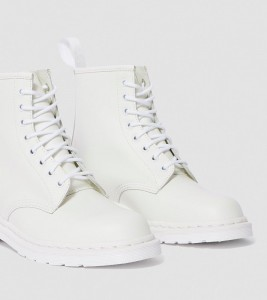 Ботинки Dr. Martens 1460 MONO SMOOTH LEATHER LACE UP BOOTS