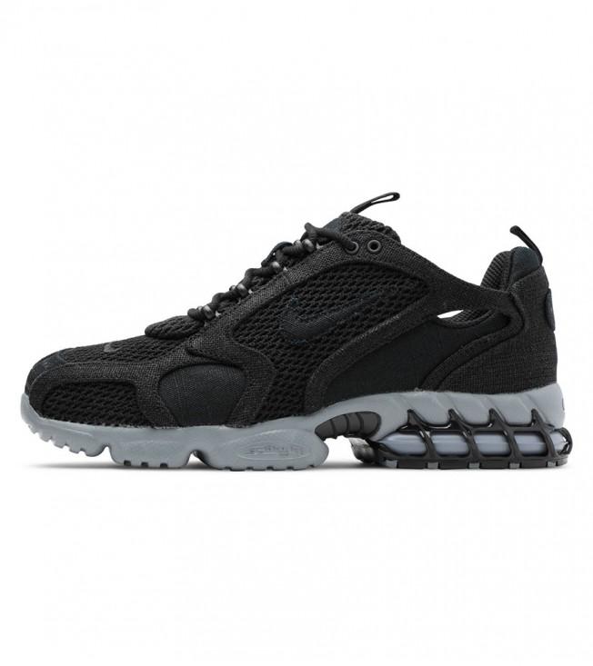 Кроссовки Stussy x Nike Air Zoom Spiridon Cage 2 Black