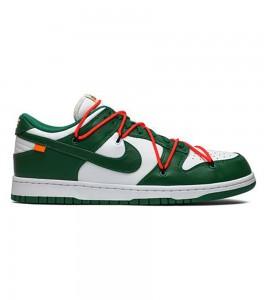Кроссовки Off-White x Nike Dunk Low Pine Green