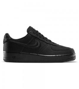 Кроссовки Stussy x Nike Air Force 1 Low Black