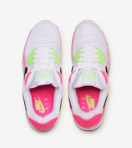Кроссовки Nike Air Max 90 Pink Volt W - Фото №2