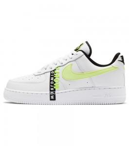 Кроссовки Nike Air Force 1 '07 Worldwide White Volt