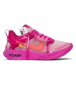 Кроссовки Off-White x Nike Zoom Fly SP Tulip Pink