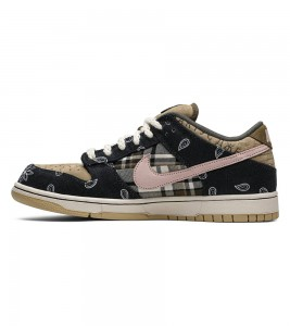Кроссовки Nike SB Dunk Low Travis Scott - Фото №2