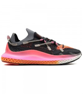 Кроссовки adidas 4D Fusio Black Pink Orange