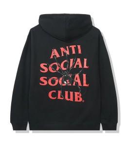 Худи Anti Social Social Club Bitter Black