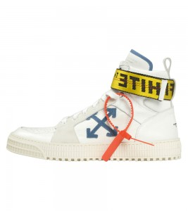Кроссовки Off-White High Top Sneaker 'White Blue'