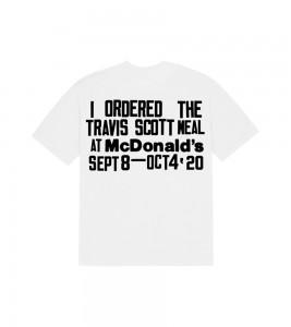 Футболка Travis Scott x CPFM 4 CJ Burger Mouth White - Фото №2
