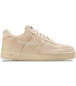 Кроссовки Stussy x Nike Air Force 1 Low Fossil