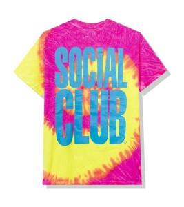 Футболка Anti Social Social Club Heatwave Pink Tie Dye - Фото №2