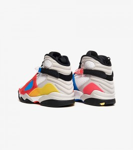 Кроссовки Air Jordan 8 RETRO SE White Multicolor - Фото №2