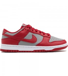 Кроссовки Nike Dunk Low Retro Medium Grey Red UNLV 2021