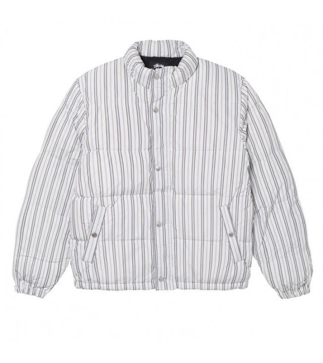 Куртка Stussy Stripe Puffer Jacket