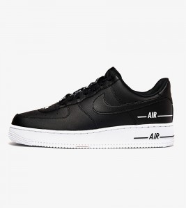 Кроссовки Nike Air Force 1 Double Black White