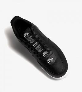 Кроссовки Nike Air Force 1 Double Black White - Фото №2
