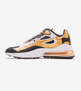 Кроссовки Nike Air Max 270 React White Gold