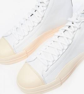 Кроссовки adidas Y-3 YUBEN MID White - Фото №2