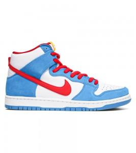 Кроссовки Nike SB Dunk High Doraemon