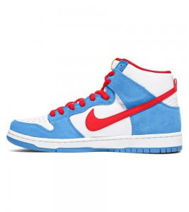 Кроссовки Nike SB Dunk High Doraemon - Фото №2