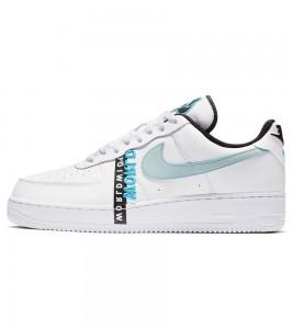Кроссовки Nike Air Force 1 '07 Worldwide White Blue