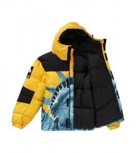 Куртка Supreme х The North Face Statue of Liberty Baltoro Jacket Yellow - Фото №2