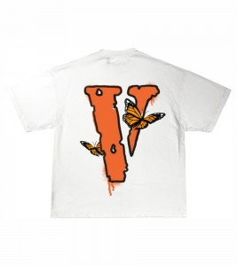 Футболка Juice Wrld x Vlone Butterfly T-Shirt White