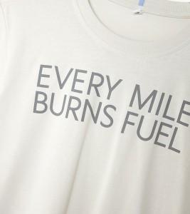 Футболка MCQ Every Mile Burns Fuel - Фото №2