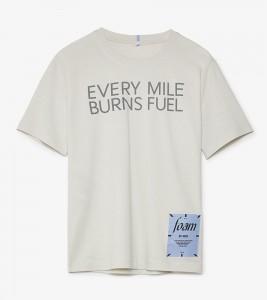 Футболка MCQ Every Mile Burns Fuel