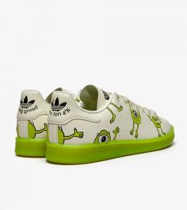 """Кроссовки adidas Stan Smith """"Mike Wazowski"""" - Фото №2"""