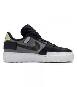 Кроссовки Nike Air Force 1 Type Black  - Фото №2