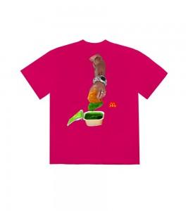 Футболка Travis Scott x McDonald's Cactus Sauce II Pink - Фото №2