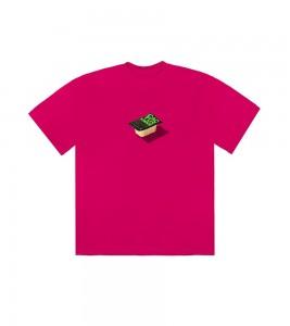 Футболка Travis Scott x McDonald's Cactus Sauce II Pink
