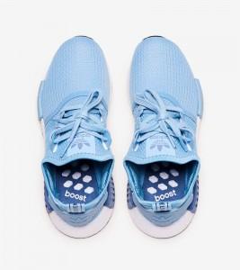 Кроссовки adidas NMD R1 Blue W - Фото №2