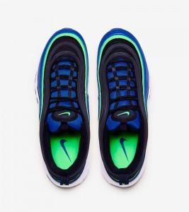 Кроссовки Nike Air Max 97 Blue Green - Фото №2