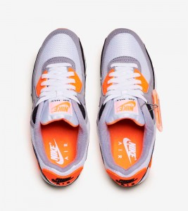 Кроссовки Nike Air Max 90 Total Orange - Фото №2