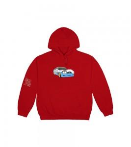 Худи Travis Scott JACKBOYS Vehicle Red