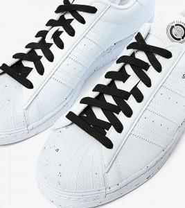 Кроссовки Adidas Superstar White Black - Фото №2
