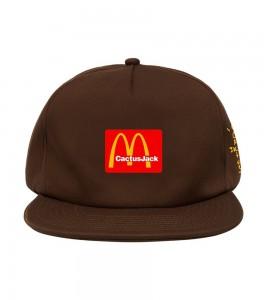 Кепка Travis Scott x McDonald's Cj Arches Brown