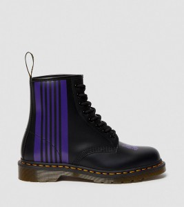 Ботинки Dr. Martens 1460 NEEDLES LEATHER LACE UP BOOTS