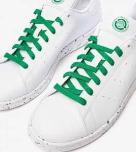 Кроссовки Adidas Stan Smith White Green - Фото №2