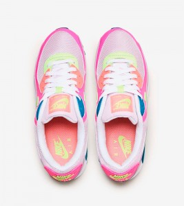 Кроссовки Nike Air Max 90 Highlight Pink - Фото №2