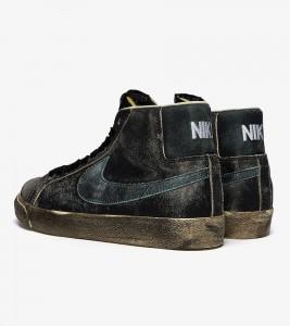 Кроссовки Nike SB Zoom Blazer Mid Premium - Фото №2