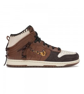 Кроссовки Nike Dunk High Bodega Legend Fauna Brown