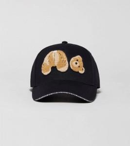 Palm Angels Black Bear Cap