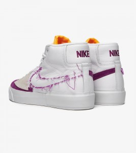 Кроссовки Nike SB Zoom Blazer Mid Edge - Фото №2