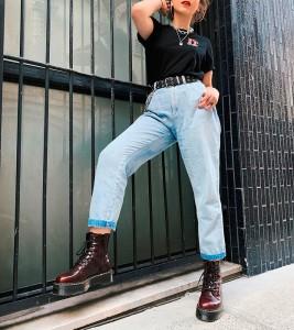 Ботинки Dr. Martens VEGAN JADON II PLATFORM BOOTS - Фото №2