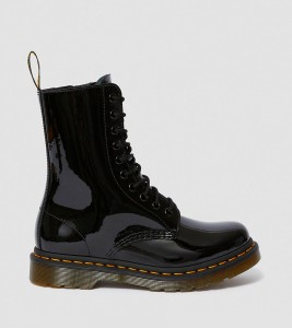 Ботинки Dr. Martens 1490 WOMEN'S PATENT LEATHER MID CALF BOOTS