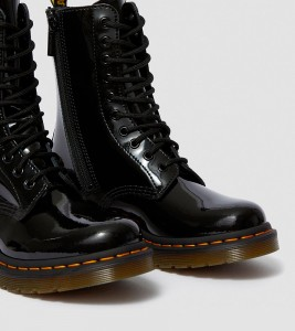 Ботинки Dr. Martens 1490 WOMEN'S PATENT LEATHER MID CALF BOOTS - Фото №2